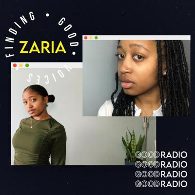 Cover art for finding good voices: zaria (@onaregularbasisnyc)
