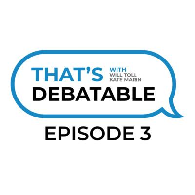 Cover art for That's Debatable Episode #3 - In-Round Annoyances