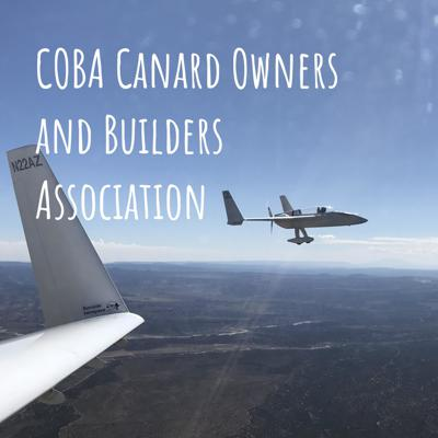 COBA is the official organization for Canard enthusiasts. Combining the Central States Association (CSA) newsletter with the EZ.org community, the Canard Owners and Builders Association (COBA) is represented by it's membership base, website, this Podcast, Newsletters and canard gatherings and events. We are run and managed by a team of canard builders and owners who want to strengthen the Rutan-inspired aircraft community.  Membership is $39 per year, and in includes the quarterly CSA newsletter mailed to your address, and full access to the resources of CanardOwners.com. Support this podcast: https://anchor.fm/rutancoba/support