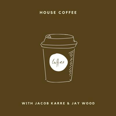 Two friends talking about life over some coffee and microphones. Created by Jay Wood + Jacob Karre.