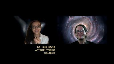 Cover art for Interview with Lina Necib of Caltech on her discovery of Nyx stars from beyond the galaxy - Astronomy News with The Cosmic Companion Video and Podcast July 28, 2020