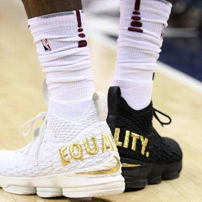 Cover art for LeBron's Sneakers Are Going Into the Smithsonian Museum - Outside The Box Podcast