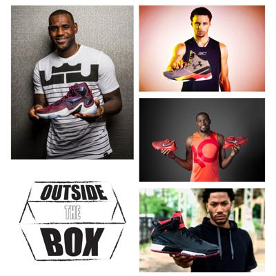 Cover art for What's Happening to BASKETBALL shoes? #OutsideTheBox