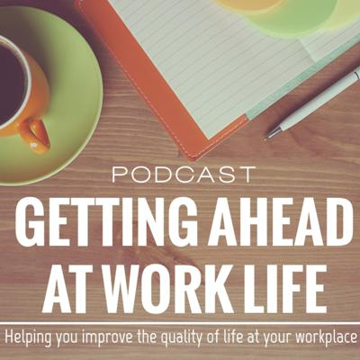 Getting Ahead At Work Life was created to encourage, share, inspire, educate, and improve your life at your current negative workplace, or help you get to a new one. With weekly interviews of people sharing their experiences with what they are dealing with at their workplaces, together we can help them find a better place. Whether that is an improved environment where they currently are, or whether it is a job somewhere new. Join in the conversation! -- Created by Steve Page out of the frustrations of a negative workplace.