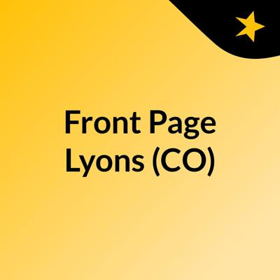 Front Page Lyons (CO)