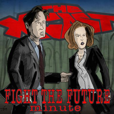 Cover art for 452. Fight the Future Minute #72: Mulder's Apartment