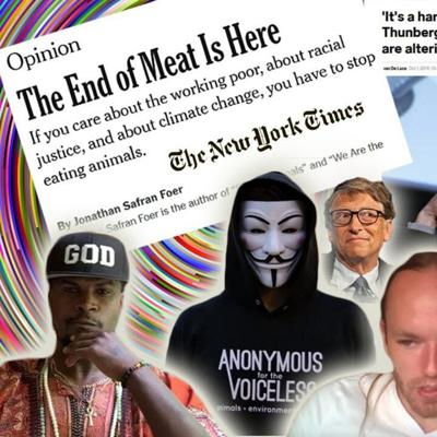 Cover art for NYT says The End of Meat is Here | Paul Bashir backs out of debate