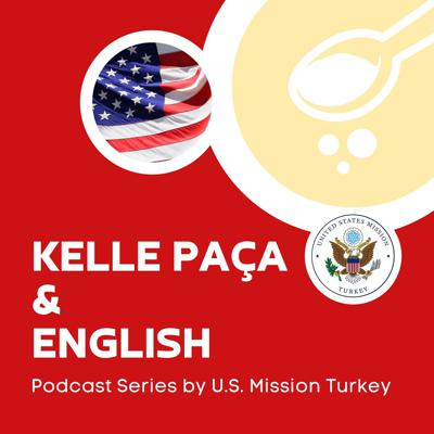 Kelle Paça and English is a podcast for English language enthusiasts - both teachers and learners. On each episode, U.S. Embassy Turkey Regional English Language Officer David Fay invites an English Language Fellow in Turkey to talk about English language, teaching in Turkey and Kelle Paça - the soup that is as complex and nuanced as the English language.