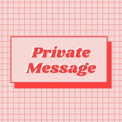 Private Message Podcast