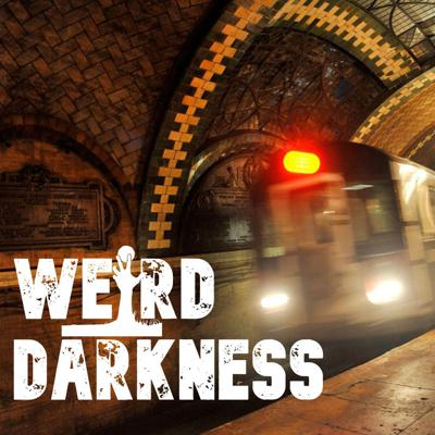 "Cover art for ""THE STRANGERS ON THE SUBWAY"" and one more Creepypasta! #WeirdDarkness"