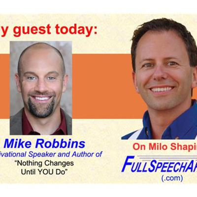Empowered lives and business thru self-compassion - author/speaker Mike Robbins