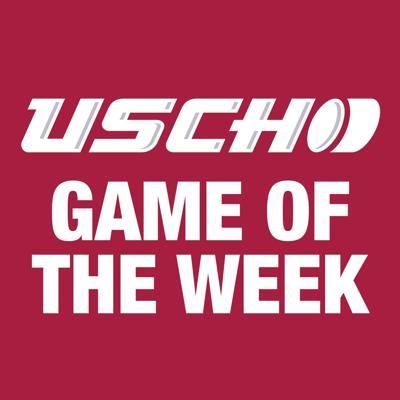The USCHO Game of the Week podcast will feature conversations with one or more coaches or players in advance of the USCHO.com featured Game of the Week. And we'll have a rundown of upcoming games among Top 20 teams and other key match ups.