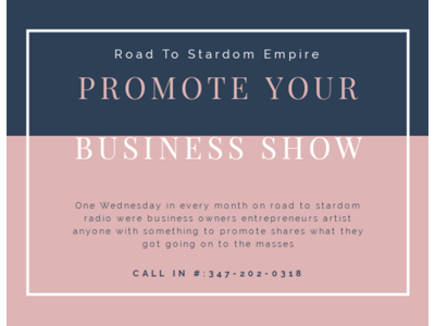 Cover art for PROMOTE YOUR BUSINESS SHOW #73