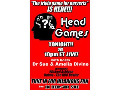 Cover art for Head Games #2 - The Sex Trivia Show for Perverts Like US!