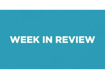 Cover art for The week in review with Bill Katz the editor of Urgent Agenda