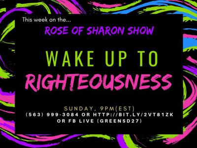 Cover art for The Rose of Sharon Show