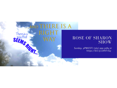Cover art for The Rose of Sharon
