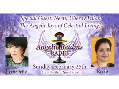 Cover art for Neetu Uberoy Palan – The Angelic Joys of Celestial Living!