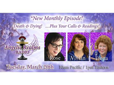 Cover art for Premier of a Monthly Episode on Death and Dying!