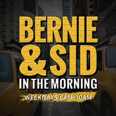 The new morning show for New York City. Listen to Bernie and Sid everyday from 6A-10A on 77 WABC.