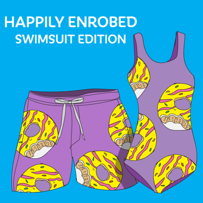 Cover art for 874 - Happily Enrobed Swimsuit