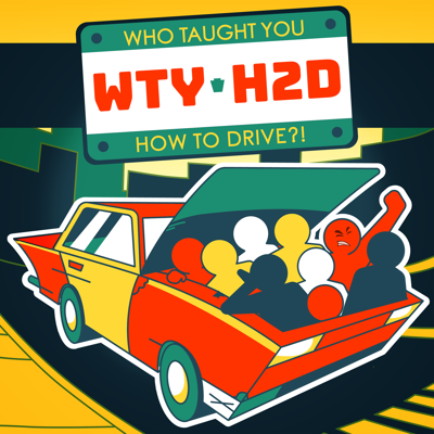 """Who Taught You How To Drive?! """"Poppin' the hood on humanity """" Our podcast is a quirky, comical, look at identity thru the driving experience! Each episode the host rides shotgun with a new guest to discuss the parts of them that emerge when they're in a car."""