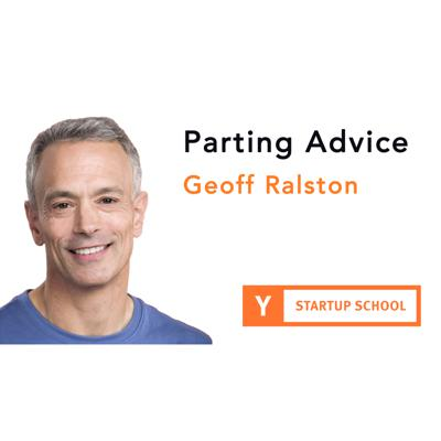 Cover art for Parting Advice by Geoff Ralston