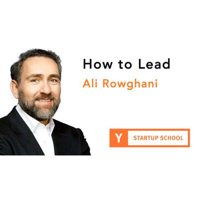 Cover art for How to Lead by Ali Rowghani