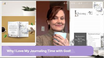 Cover art for Sharing My Journaling Process to Seek & Listen to God to Reach a God-Inspired Dream