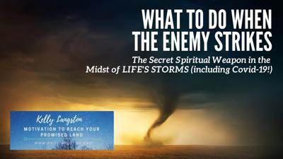 Cover art for What to Do When the Enemy Strikes: The Spiritual Weapon in the Midst of Life's Storms (& Covid-19!)