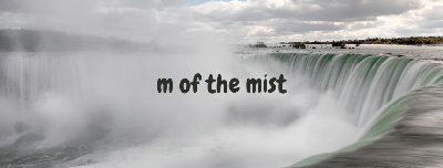 Cover art for M of the Mist