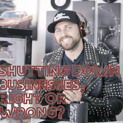 Cover art for Shutting Down Businesses; Right Or Wrong? // RockstarsDream Podcast Ep. 9