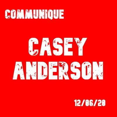Cover art for Casey Anderson 12/06/20