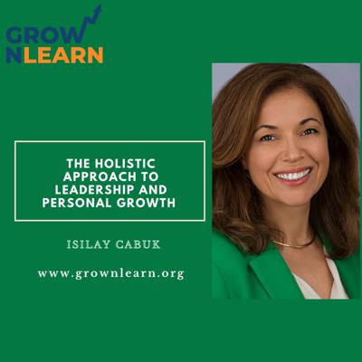 Cover art for Leadership and Personal Growth Tips with Isilay Cabuk