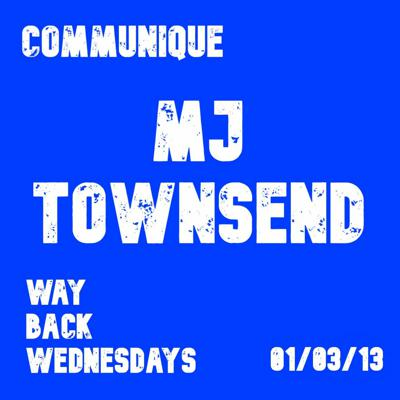 Cover art for Way Back Wednesdays - MJ Townsend 01/03/13