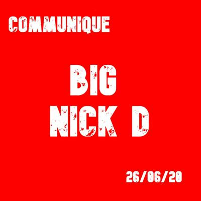 Cover art for Big Nick D 26/06/2020