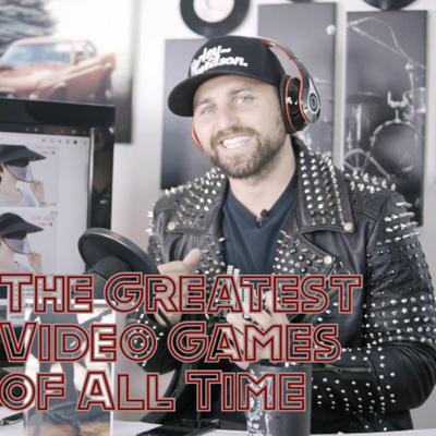 Cover art for The Greatest Video Games of All Time // RockstarsDream Podcast Ep. 3