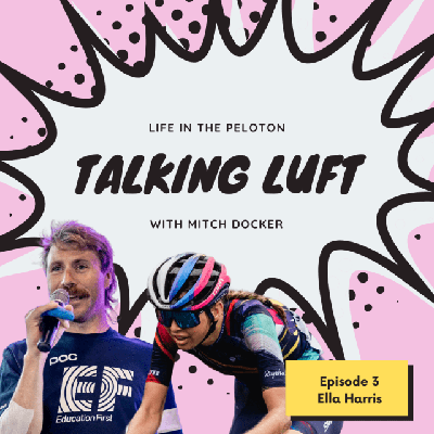 Cover art for Talking Luft! with Ella Harris. Ep. 3