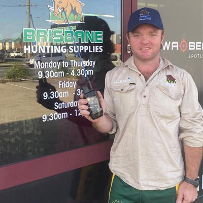 Cover art for EP 16: Hunting in Australia  with Adrian De Pauw /  Australia version of the Garmin Alpha 200i