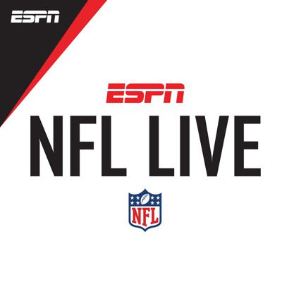 ESPN's NFL Live scoops the latest news and information from deep inside the NFL and deposits it into your ears.