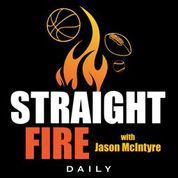 Cover art for Straight Fire with Jason McIntyre - Buy Low on Tom Brady and the Bucs, Aaron Rodgers Turns Back the Clock, Dink and Dunk Dak Prescott