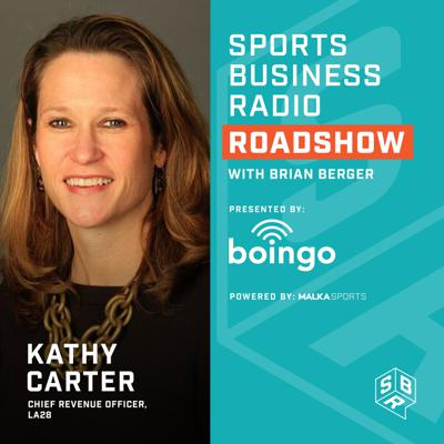 Cover art for Kathy Carter - LA28 Olympics & Paralympics, Chief Revenue Officer