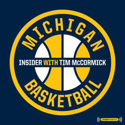 Cover art for Michigan Basketball Insider - Coach of the Decade, Emoni Bates, & More