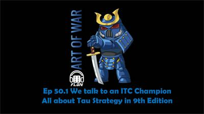 Cover art for Ep. 50.1  We dive deep into Tau Strategy for 9th Edition