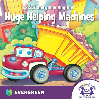 Cover art for Huge Helping Machines