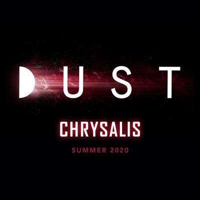 DUST is the premier destination for immersive science fiction audio stories.  Season Three arrives this summer: the epic full story of CHRYSALIS.  Previous Seasons:  Season One, Horizons: An anthology of audio stories ranging from Philip K. Dick and Ray Bradbury to the new voices of today.   Season Two, FLIGHT 008: Eleven of the biggest writers in science fiction, through eleven unique stories, follow one single thread: a non-stop flight from Tokyo to San Francisco that passes through a wrinkle in spacetime and lands in the year 2040.