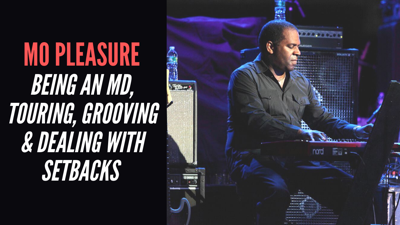 Cover art for Mo Pleasure - Being An MD, Touring, Grooving & Dealing With Setbacks