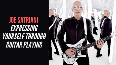 Cover art for Joe Satriani - Expressing Yourself Through Guitar Playing