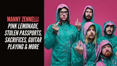 Cover art for Manny Zennelli - Pink Lemonade, Stolen Passports, Sacrifices, Guitar Playing & More