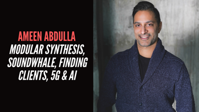Cover art for Ameen Abdulla - Modular Synthesis, Soundwhale, Finding Clients, 5G & AI